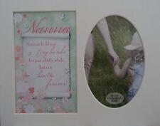 """ Nanna "" Keepsake photo mount to fit 8"" x 10"" Bedroom Living Room Hallway."