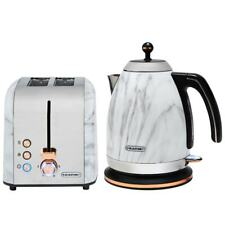 New Glamorous Blaupunkt Marble Effect Kettle & Toaster- Compliment Your Kitchen