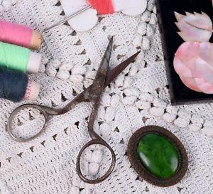 Indian Vintage Iron Cloth Scissors Dressmaker multifunctional tool. G47-219 US