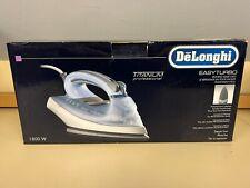 DeLonghi Easy Turbo FXN18AG Professional Iron 1800W Ceramic Titanium New