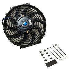 12″ inch Universal Slim Fan Push Pull Electric Radiator Cooling 12V + Mount Kit