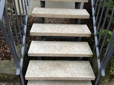 Blockstufe Granit gestockt Trittstufe Treppenstufe Aussentreppe Naturstein 6cm