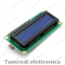 display LCD 16x2 1602 seriale IIC I2C illuminazione blu (Arduino-Compatibile)