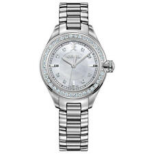 EBEL Women's 30mm Steel Bracelet & Case Swiss Quartz MOP Dial Watch 1216096