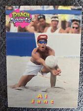 New listing 1992 BEACH SPORTS Al Janc VOLLEYBALL CARD #39