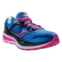 NEW ! NIB SAUCONY Triumph ISO 2 Running Sneakers Blue/Pink Size 7