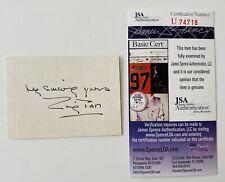 New ListingEmily Post Signed Autographed 2.5 x 3.25 Card Jsa Certified Etiquette