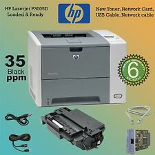 Genuine HP P3005D P3005DN Mono Laser 35 Pages per minute Q7813A W/NET CARD