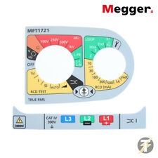 Megger Multifunction Tester spare / replacement label set for MFT1721 1008-575