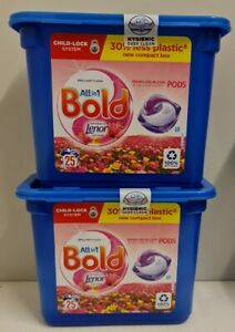 Bold 3in1 PODS SPARKLING BLOOM&YELLOW POPPY  Liquitabs, 2x25 = 50 pods in total