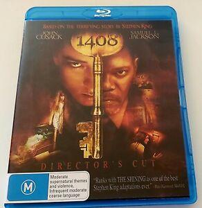 1408 (Blu-ray, Rare OOP Horror) Stephen King, Samuel L Jackson, John Cusack