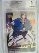 2009-10 UD SERIES 2 EXCLUSIVES JAMES REIMER 22/100 YOUNG GUNS ROOKIE C.493,BGS M