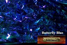 M00098 Morezmore Angelina Fantasy Film Butterfly Blue Heat Bondable 10'