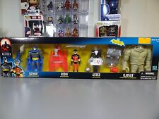 Batman Animated Series 4 Pack Batman , Robin , Alfred & Clayface