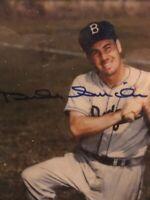 Duke Snyder signed Photo  5/7