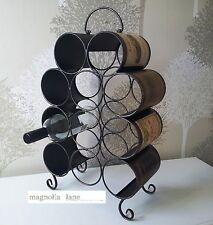 Iron 10-19 Bottles Wine Racks