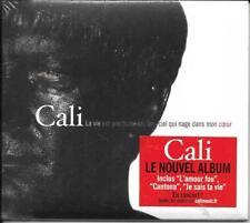 CD MULTIMÉDIA DIGIPACK 13T CALI LA VIE EST UNE TRUITE ARC-EN-CIEL QUI NAGE ..NEW
