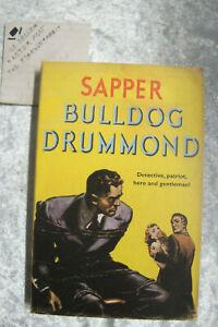 Bulldog Drummond - Sapper herman mcneile OzSellerFasterPost!
