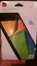 Verizon Display Protector 3-Pack Screen Protection For Nexus 7