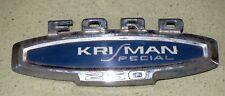 Original FORD KRIMAN SPECIAL 250 Emblem Truck Krisman OEM Van FOMOCO