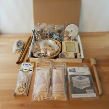Early American History Crafts & Activities Lot Homeschooling Wagon Basket Doll