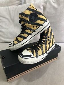 NEW CONVERSE Limited Edition Gelb Schwarz All Star Mens 4.5 Womens 6.5 US [386]