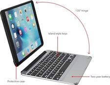 Zagg Slim Book for 9.7-inch iPad Pro- wireless keyboard with detachable case