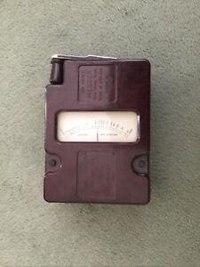 Vintage Megger Red Bakelite Insulation Tester By Evershed & Vignoles