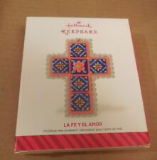 Religious Cross Hippie Faith and Love 2015 Hallmark Ornament Peace