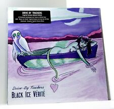 DRIVE-BY TRUCKERS Black Ice Verite WHITE COLOR VINYL LP + DVD Sealed LIVE