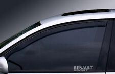RENAULT SPORT WINDOW ETCHED GLASS VINYL DECALS-STICKERS X2 – 7YR VINYL – CAR MOD