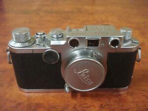 Leica llc Vintage Camera (Has Issues) Elmar 5cm Collapsible Lens No Reserve