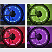 2x LED Ventilkappe Fahrrad Auto Motorrad Rad Reifen Bike Felgen Licht Lampe Neu
