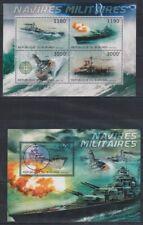 C832. Burundi - MNH - Transport - Ships - Military - 2012