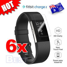 6X For Fitbit Charge 2 Compact TPU Hardness LCD Screen Protector Real Films AU