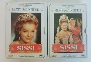 INTEGRALE SISSI ROMY SCHNEIDER EN 2 COFFRETS (4 DVD)
