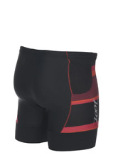 Zoot - Men's Performance Tri 7 inch short - Black/Race Day Red - Extra Large