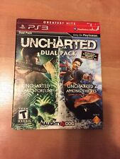 PlayStation 3 : UNCHARTED Greatest Hits Dual Pack VideoGames And Infamous 2