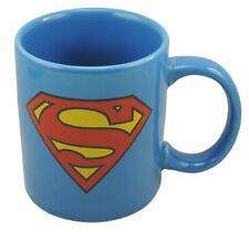 Superman Keramiktasse mit Superman Logo auf beiden Seiten (Inhalt: 320ml)