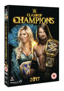 WWE: Clash of Champions 2017 DVD (2018) Kevin Owens cert TBC ***NEW***