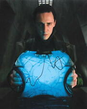 TOM HIDDLESTON.. The Avengers' Loki - SIGNED