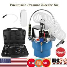 Pneumatic Air Pressure Brake Bleeding Kit Brake Oil and Fluid Extractor Bleeder