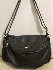 Elle Crossbody / Shoulder Handbag Purse  **BLACK**