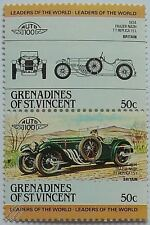 1934 FRAZER-NASH TT Car Stamps (Leaders of the World / Auto 100)