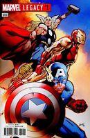 Marvel Legacy #1 Avengers Land Variant Comic 1st Print 2017 New NM