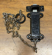Window Or Door  Cast Iron Working Spring Loaded Pull Bolt Door Lock/ Latch Chain