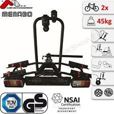 Naos Rapid MENABO Fahrradträger Anhängerkupplung 2 Fahrräder Fahrradheckträger