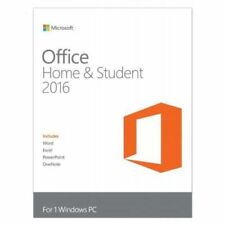Microsoft Office 2016 Home and Student for Windows English Product key