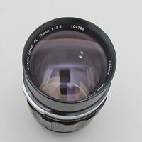 Canon 135mm F2.5 FL Prime Lens For AE-1 A-1 F-1 SLR & Mirrorless Cameras