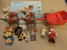 Playmobil Santa's Magic Sleigh Set - Christmas Set No 3604